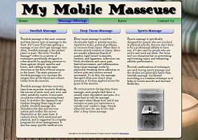 my mobile masseuse screenshot 1