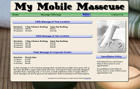 my mobile masseuse screenshot 2