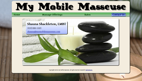 my mobile masseuse screenshot 3